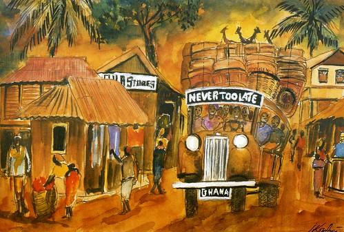 never too late by John Kofi Aryee