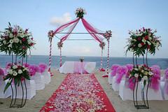 Beach Wedding at Bali Hyatt