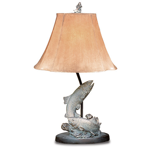 Table lamp with fish design best inspiration for table lamp for Fish table app