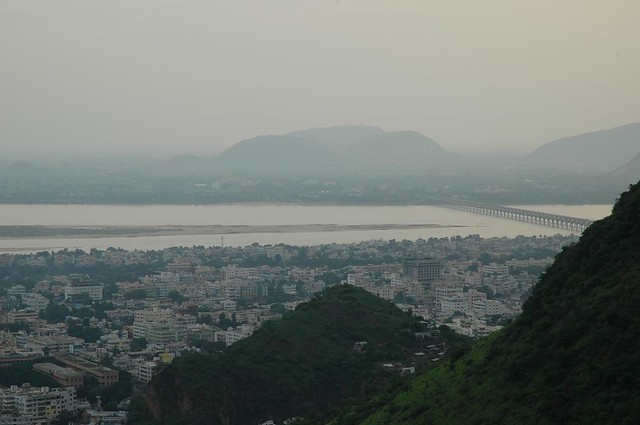 Vijayawada hill view
