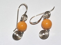 Tangerine spirals