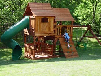 Charmant 38) Backyard Fun Factory Custom Designed Bi   Level