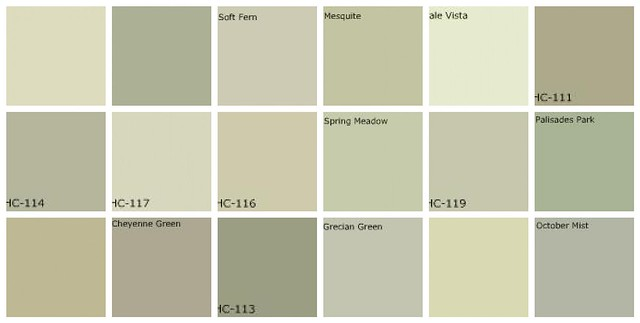 Gray Green Paint: Designers' Favorite Colors