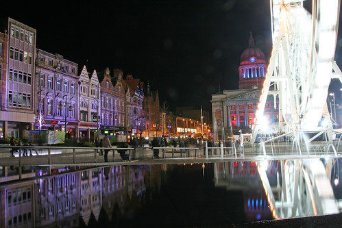 Light Night in the Square