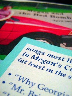 songs most likely to . . . detail