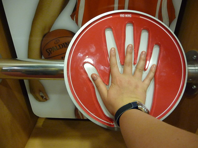 Real size of Yao Ming's hand!!! | Flickr - Photo Sharing!