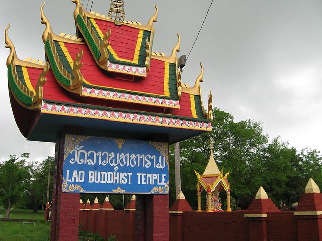 Lao buddhist temple near stones river national battlefield flickr photo sharing - Lao temple murfreesboro tn ...