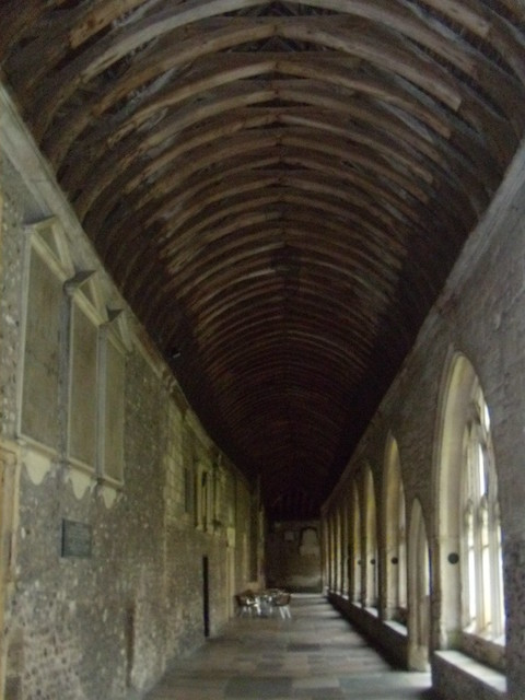 Cloisters, Chichester Cathedral