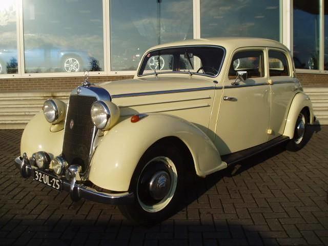 Mercedes benz 170 ds 4 deurs diesel 1953 autotrader by for 1953 mercedes benz 220 sedan for sale