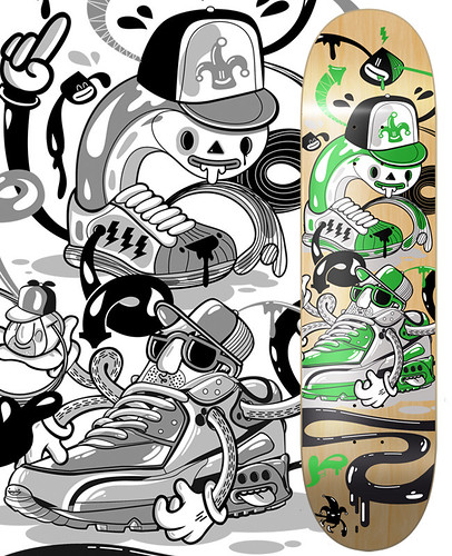 AirDEX x AdiSAT Sneaker Deck – Vote now!