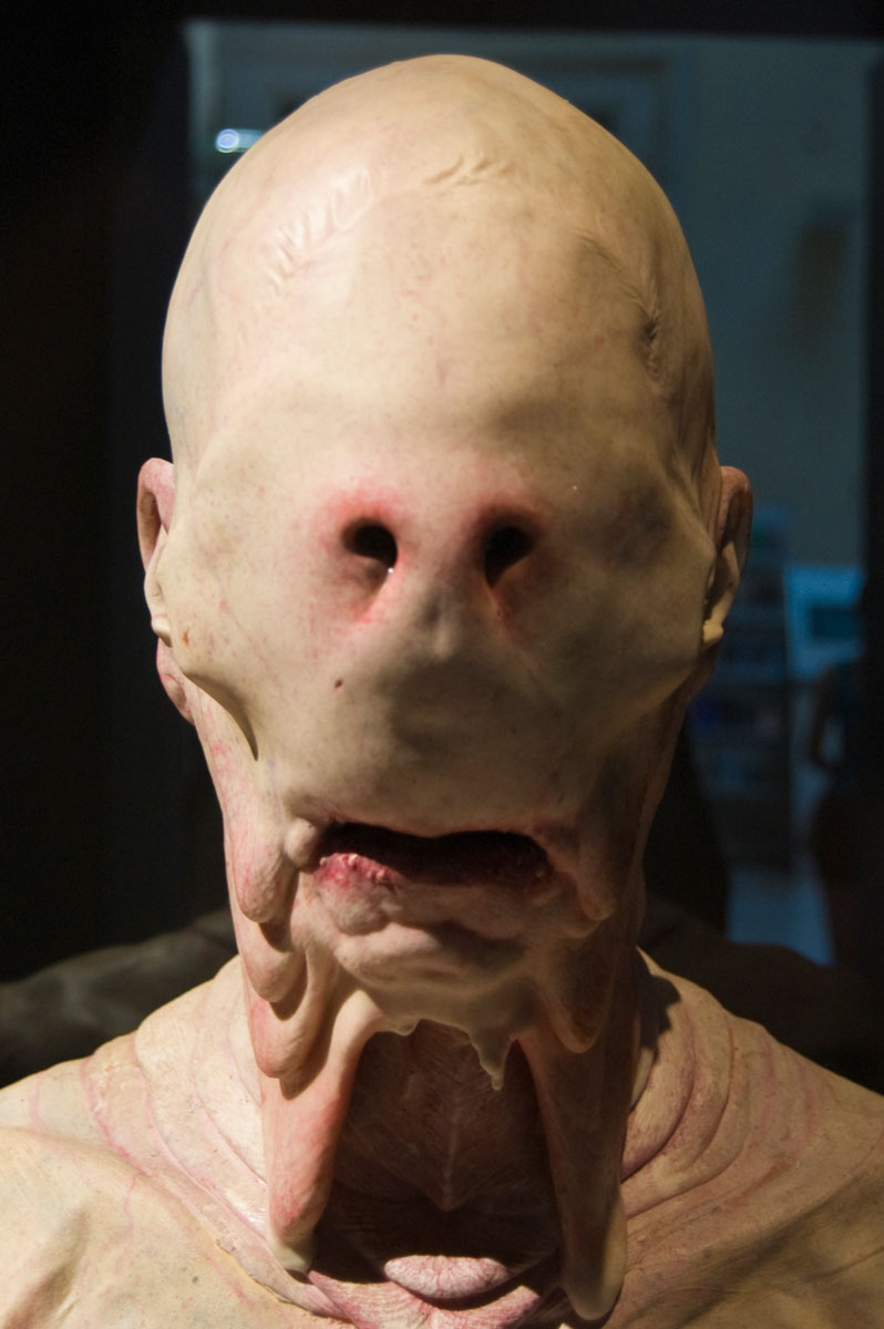 "The Pale Man from ""Pan's Labyrinth"" - a photo on Flickriver