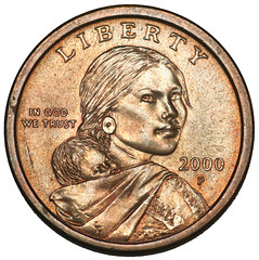 Dollar Coin Head (Front)