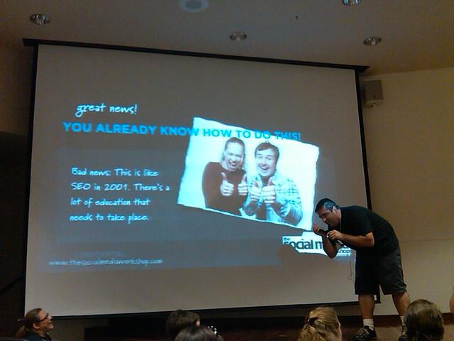 Surprise call from Matt Mullenweg during Gio's speech | Flickr - Photo ...