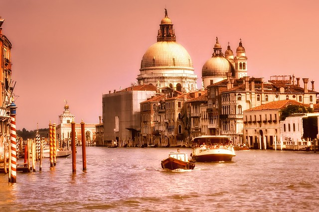 Mouth of the Grand Canal and Santa Maria della Salute
