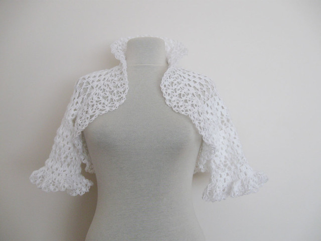Mesh Crochet Shrug | - Welcome to the Craft Yarn Council and Warm