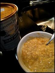 Flashback friday alton brown s overnight oatmeal bon for Alton brown oat cuisine