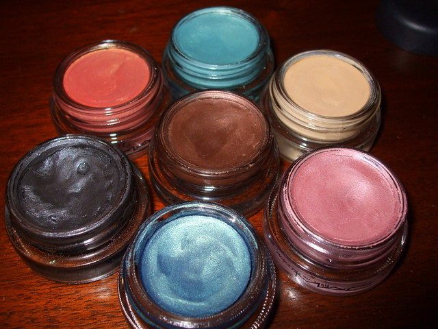 ALL my MAC paintpots, Can you guess which ones they are?