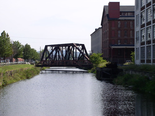 Tressel Bridge North Canal Lawrence MA