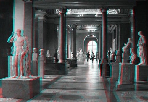 Louvre 3d anaglyph 006