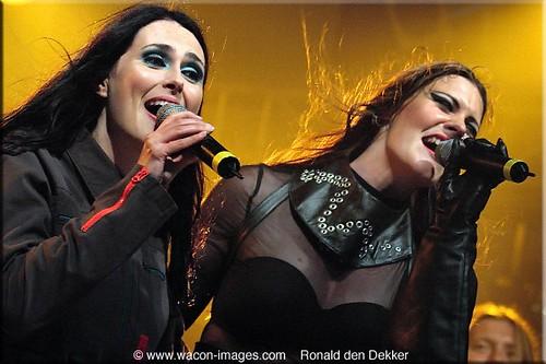 Floor Jansen And Sharon Dan Del