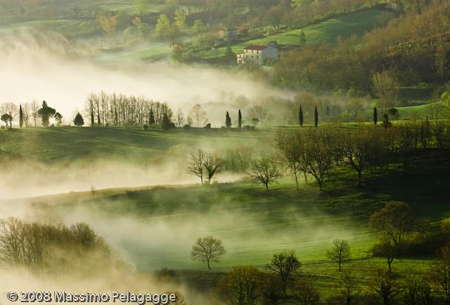 Brume in Toscana