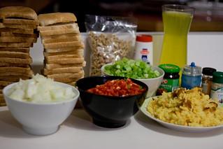 Turducken Stuffing Ingredients