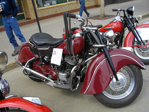 1947 Indian Chief Motorcycle  *