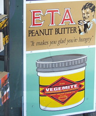 Old Advertising Signs, next to Annerley Community Bookshop, Ipswich Rd, Annerley Junction, Brisbane, Queensland, Australia 090617-2