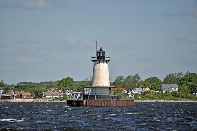 Borden Flats Lighthouse, MA