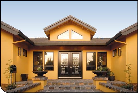 Grandes fachadas de casas modernas vida de hogar - Fachadas grandes ...