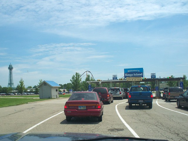 Kings Island - Toll Booths