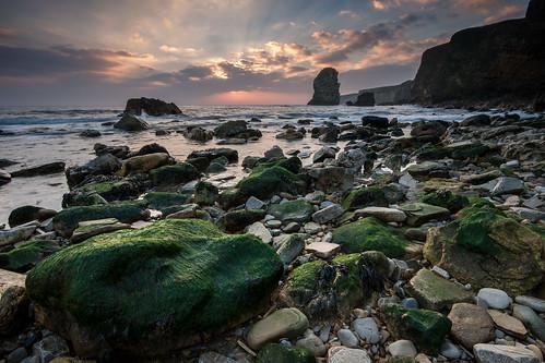 england seascape sunrise northeast seastack marsden tynewear sigma1020mmf456exdchsm canon400d
