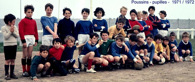 Roscoff - Paotred Rosko - Poussins pupilles 1971/72