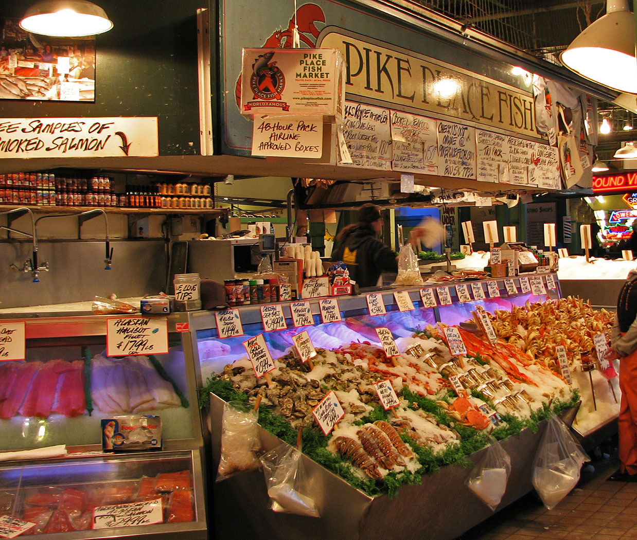 Pike place fish market ashland daily photo for The fish place