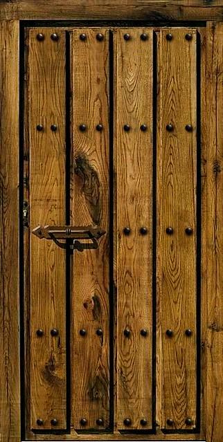 Puerta de madera ronda flickr photo sharing for Puertas de madera malaga