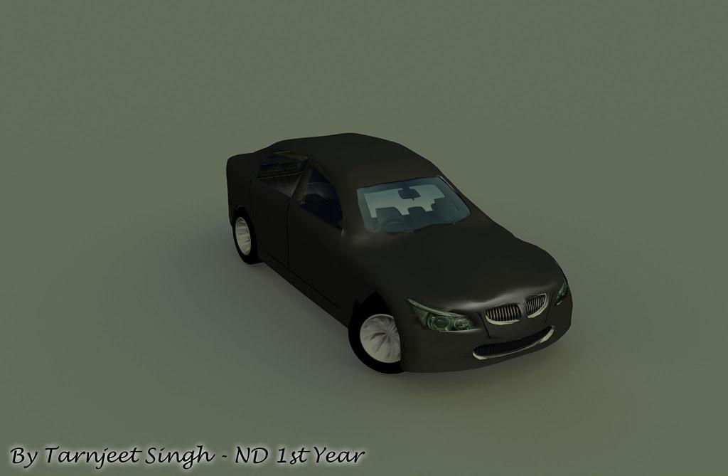BMW M5 Car Render
