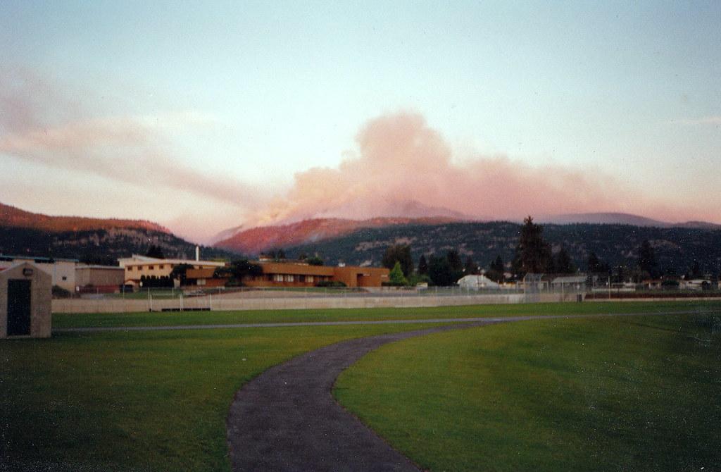 Penticton 1994-0701 Garnet Forest Fire
