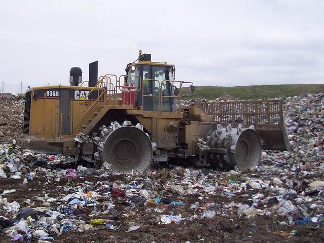 Cat Landfill Compactor : Cat h landfill compactor explore aduffy s photos