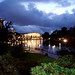 Small photo of Adelaide Festival Centre and Torrens River by night. SA