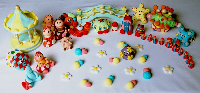 in the night garden all characters edible birthday cake toppers ...