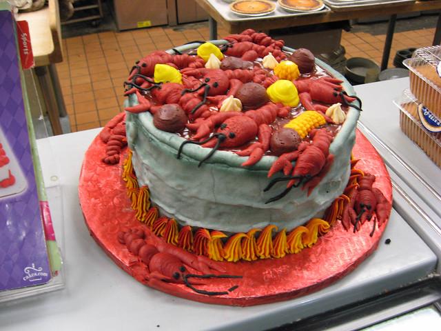 crawfish boil cake | Flickr - Photo Sharing!