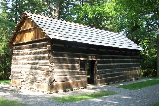 Mary jemison cabin flickr photo sharing for Cabins near letchworth state park