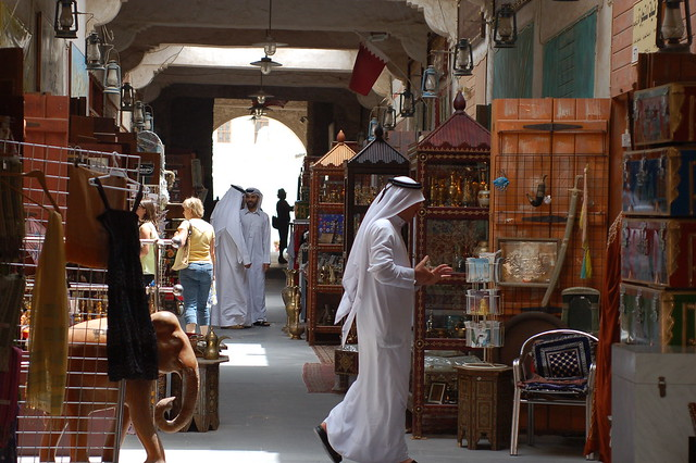 Souq Waqif by CC user whiteafrican on Flickr