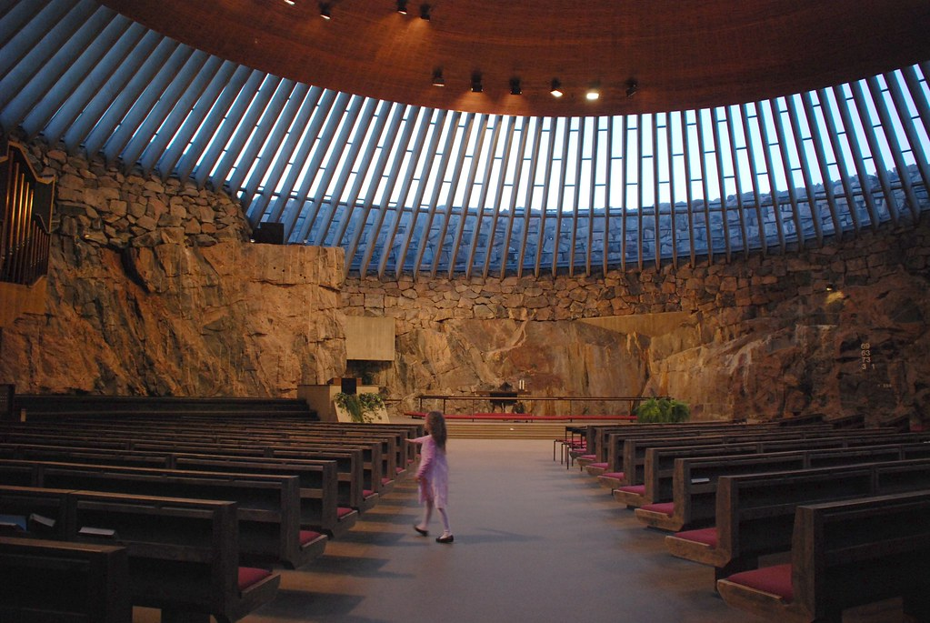 Image result for Temppeliaukio Rock Church.