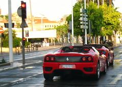ferrari f40(0.0), ferrari f50(0.0), race car(1.0), automobile(1.0), vehicle(1.0), performance car(1.0), automotive design(1.0), ferrari f430(1.0), ferrari 360(1.0), land vehicle(1.0), luxury vehicle(1.0), supercar(1.0), sports car(1.0),