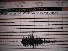 Il tremore nella zona vesuviana