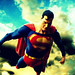 Superman Flying by Supermean