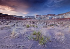 Sunset at Grand Staircase Escalante National Monument, Utah