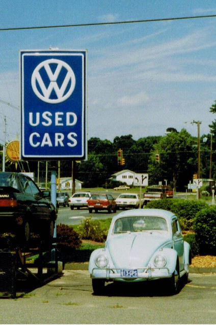Old Vw Used Cars Sign Vernon Ct 1990 This Quot Vw Used