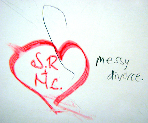 Messy divorce